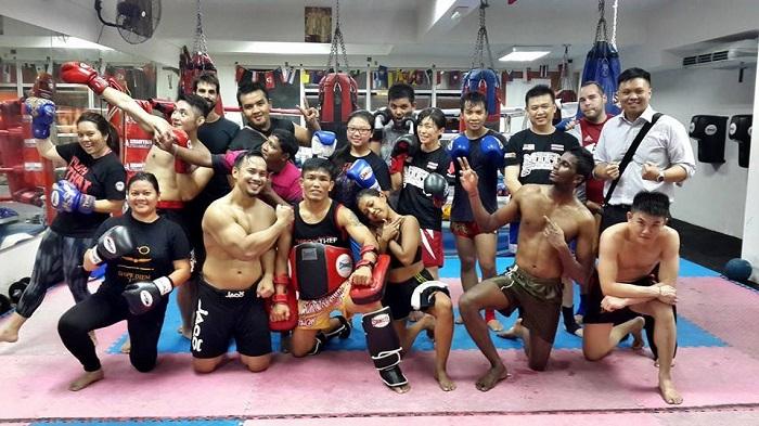 Muaythai fitnesslab KL Malaysia